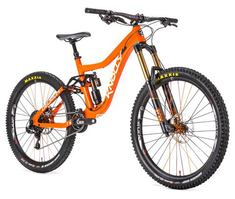 DELIRIUM COMPLETE BIKE-SUPREME LEADER (X01) BUILD KIT-Orange