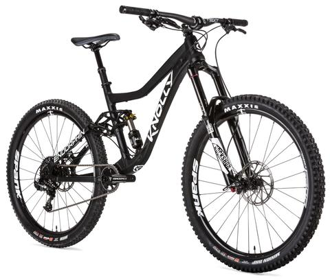 ENDORPHIN COMPLETE BIKE-SUPREME LEADER (X01) BUILD KIT-Anonized-Black