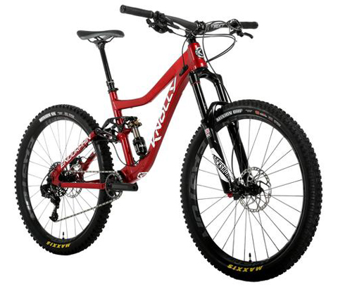 ENDORPHIN COMPLETE BIKE-SUPREME LEADER (X01) BUILD KIT-Red